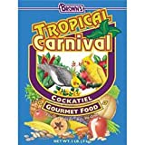 FM Brown's Tropical Carnival Cockatiel,Lovebird, Conu 5-lb bag