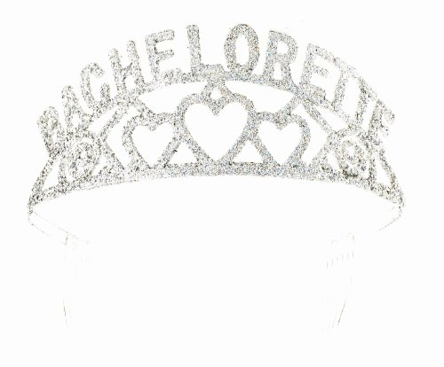 Forum Novelties Glitter Tiara (Bachelorette) - 1