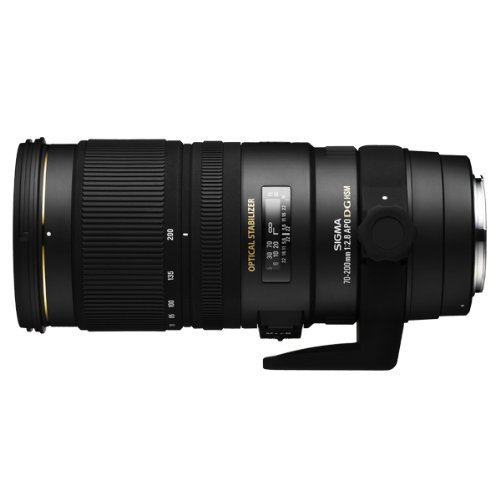 Sigma 70-200mm f2.8 EX DG OS HSM Lens for Sony Digital SLR Cameras