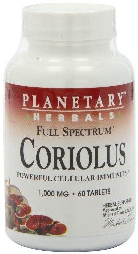 Planetary Herbals Fs Coriolus Versicolor Extract, 60 Count