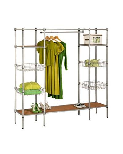 Honey-Can-Do Freestanding Steel Closet