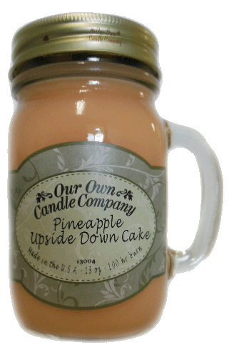 Pineapple Upside Down Cake 13 oz. Mug Candle