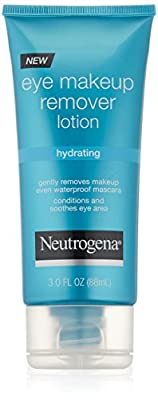 Neutrogena Hydrating Eye Makeup Remover Lotion, 3 Ounce