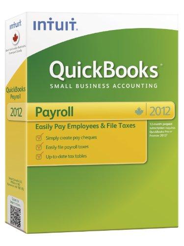 Quickbooks Payroll 2012 Win