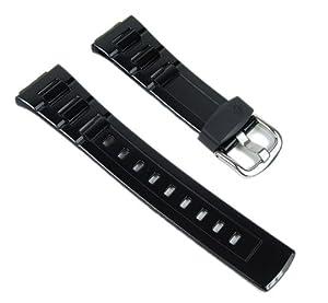 Casio watch strap watchband Resin Band black BG-3000-1ER BLX-100 BGA-110 BGR-3003