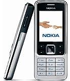 Genuine Nokia 6300 Unlocked Ultrathin Metal Bar phone Student mobile phone Bluetooth FM Radio (White)
