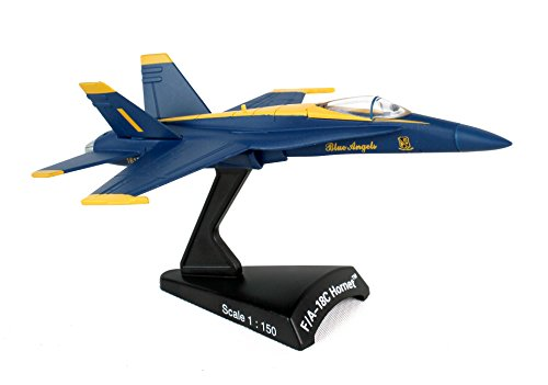 Daron Worldwide Trading F/A-18C Hornet Blue Angels 1:150 Vehicle (Blue Angels Model compare prices)