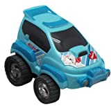 Blue Disney Marie the Cat Push Toy Car