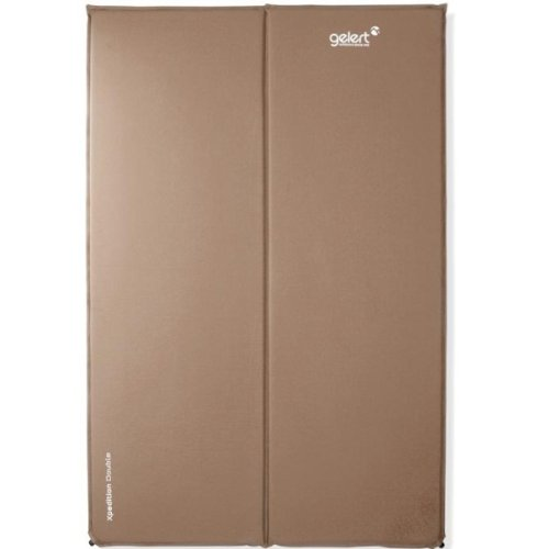 GELERT DOUBLE SELF INFLATING CAMPING MATTRESS ROLL MAT