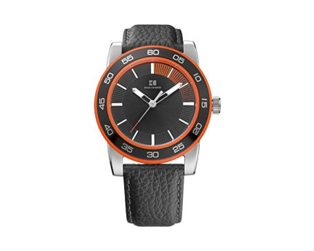 Men's Black Hugo Boss Orange Canon Ball Watch 1512858