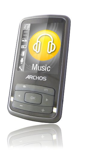 Archos Vision 20b 8 GB Video MP3 Player with 2-Inch Screen and FM Radio (Silver)