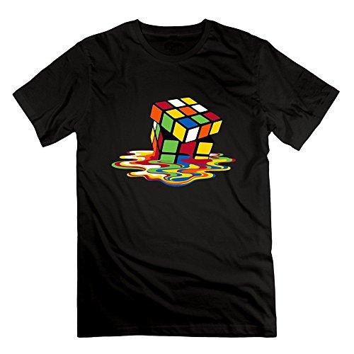 demai-mens-o-neck-rubix-cube-t-shirts-s-black