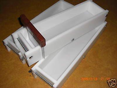 4-5 Lb Soap Molds & Bar Cutter Set