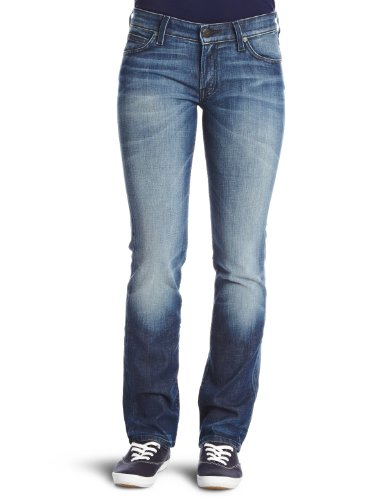 Lee Marlin Straight Women's Jeans Blue City W28InxL33In