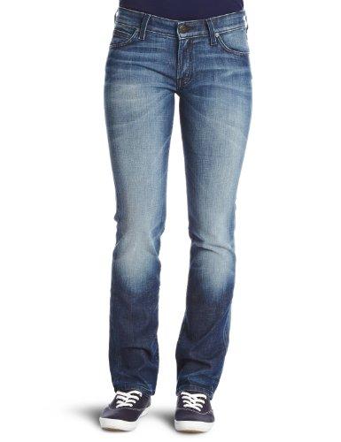 Lee Marlin Straight Women's Jeans Blue City W28InxL33In