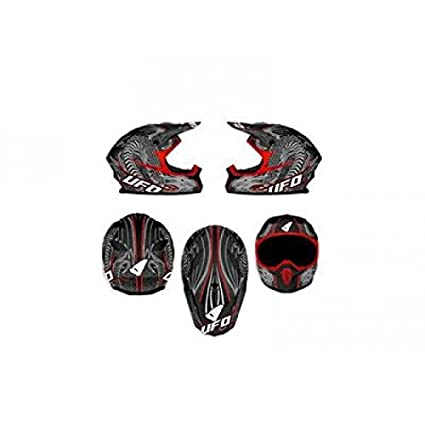 Casque Ufo Spectra Dragon T.L 59-60 - 433085L - Casque moto Off Road UFO Spectra