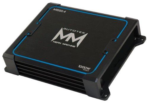 Brand New Autotek M1000.4 1000 Watt Mean Machine Series 4 Channel Class A/b Car Amplifier