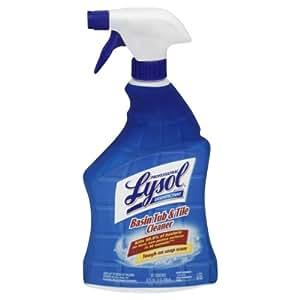 Lysol Professional Disinfectant Basin Tub Tile Cleaner