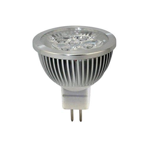 Hqtek Orginal Epistar 1 Pack Non Dimmable Mr16(Gu5.3) Led Spotlight 85V To 265V (220V,110V) 4W (330 Lumen -50Watt Equivalent) 6000-6500K Cool White 30 Degree Beam Angle