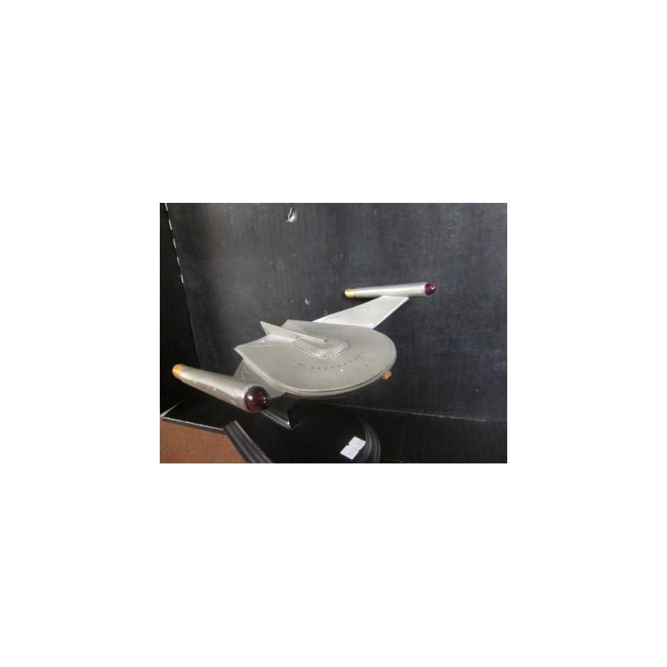Star Trek Franklin Mint Romulan Bird Of Prey Pewter Model