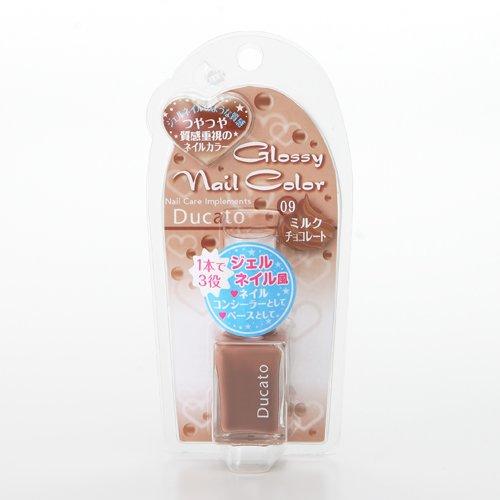 デュカート グロッシーネイルカラー ミルクチョコレート