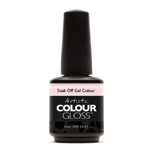Artistic Nail Design Soak Off Colour Gloss Gel Light Pink Polish 03108 Sincere