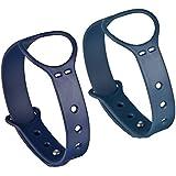 Mudder Bande de Remplacement pour Misfit Shine- Remplacement du bracelet 2 Pcs / Sport Fitness Bracelet Bracelet / Activité sans fil Bracelet avec Fermoir