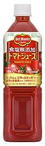 デルモンテ 食塩無添加 トマトジュース 900g×6本