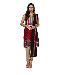 Yepme Women's Multi-Coloured Blended Unstitiched Suits - YPMRTS0303_Free Size