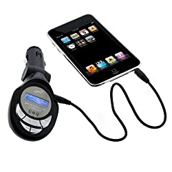 GTMax 3.5mm LED FM Transmitter with SD Slot for SanDisk Sansa Clip [Electronics]