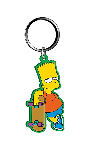 Fox Bart Simpson Soft Touch PVC Keyring