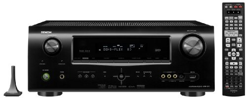 Denon AVR-1911 7.1 Channel A/V Home Theater Receiver (Black)