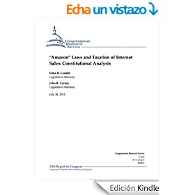 Laws and Taxation of Internet Sales: Constitutional Analysis (English Edition)