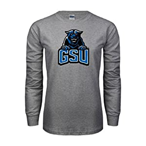 Georgia State Grey Long Sleeve TShirt 'GSU w/Panther' - L