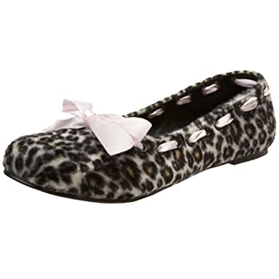 Demonia By Pleaser Women's Daisy-20 Flat,Brown Cheetah Fur,6 M US