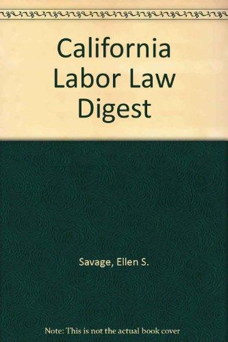 California Labor Law Digest