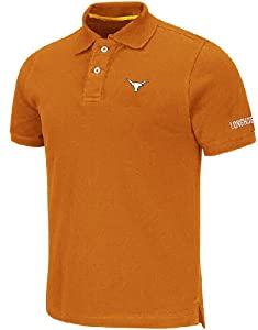 Texas Longhorns Mens Lakeside Casual Polo Shirt by Chiliwear by Chiliwear LLC