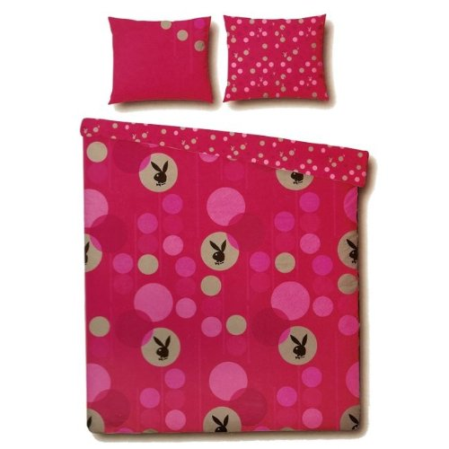playboy bunny spots duvet quilt cover set