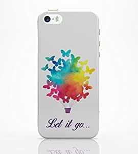 PosterGuy iPhone 5 / 5S Case Cover - Let It Go | Free Birds Illustraion Typography