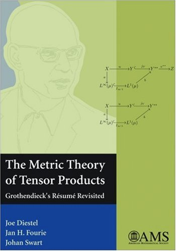 The Metric Theory of Tensor Products: Grothendieck's Resume Revisited (amsns AMS non-series title)