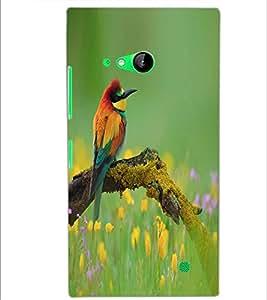 PRINTSWAG BEAUTIFUL BIRD Designer Back Cover Case for NOKIA LUMIA 730