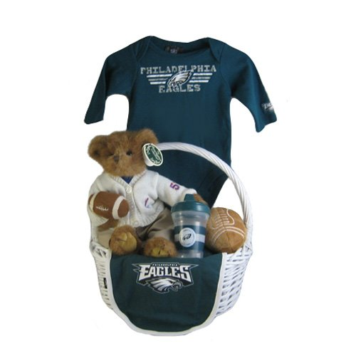new style 0bf26 2d1de Baby Gift Baskets: Philadelphia Eagles Baby Gift Basket ...