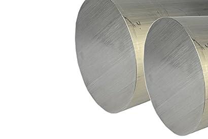 "2 Pieces 2-1//2/"" ALUMINUM ROUND ROD 16/"" long 6061 T6 Solid 2.5 Diameter Bar Stock"