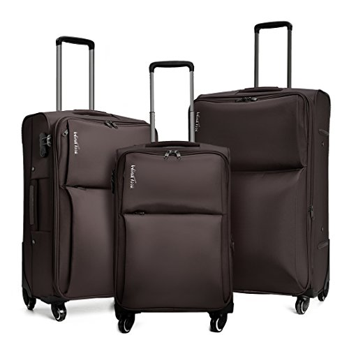 WindTook 3 Pieces Expendable Spinner Carry On Suitcase Luggage set 039#
