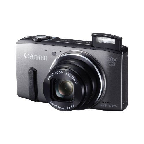 Canon-PowerShot-SX270-HS-Grey-8228B005-International-Version-No-warranty