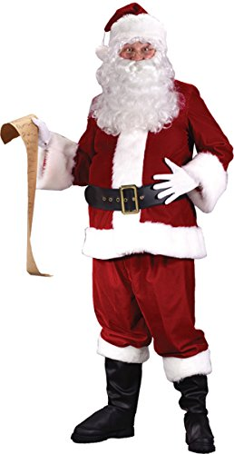 [Morris Costumes Santa Suit Ultra Velvet Xxl] (Xxl Santa Suits For Sale)