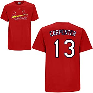 Matt Carpenter St. Louis Cardinals Adult Name & Number Player T-Shirt Jersey