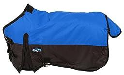 Tough 1 600D Waterproof Poly Miniature Turnout Blanket, Royal Blue, 48\
