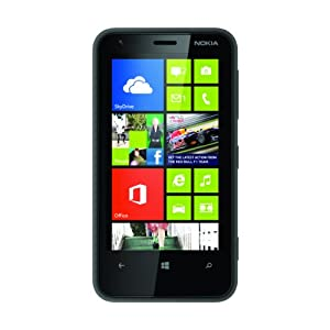 Nokia Lumia 620 Sim-Free Windows Smartphone - Black