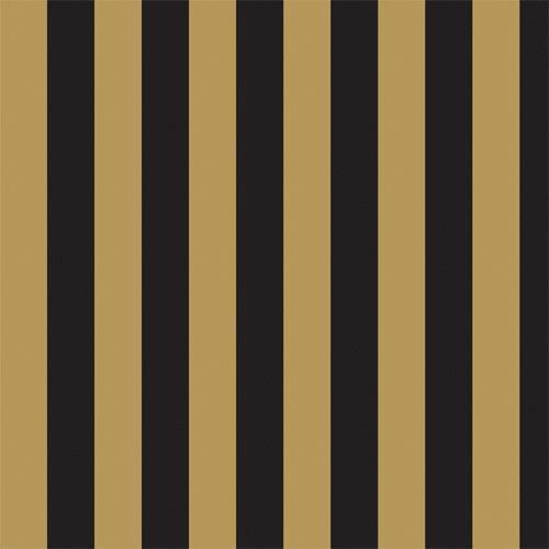 Tapeten Gestreift Pastell : Black White and Gold Stripe Background